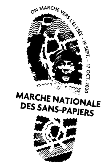 Marche nationale des sans-papiers - 19 septembre / 17 octobre 2020
